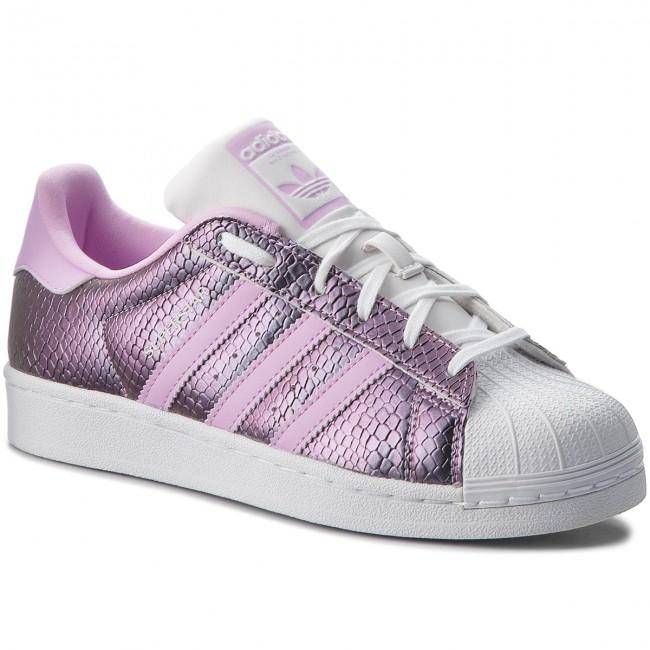 Topánky adidas - Superstar J B37184 Ftwwht Clelil Ftwwht - Sneakersy ... ec4945143fc