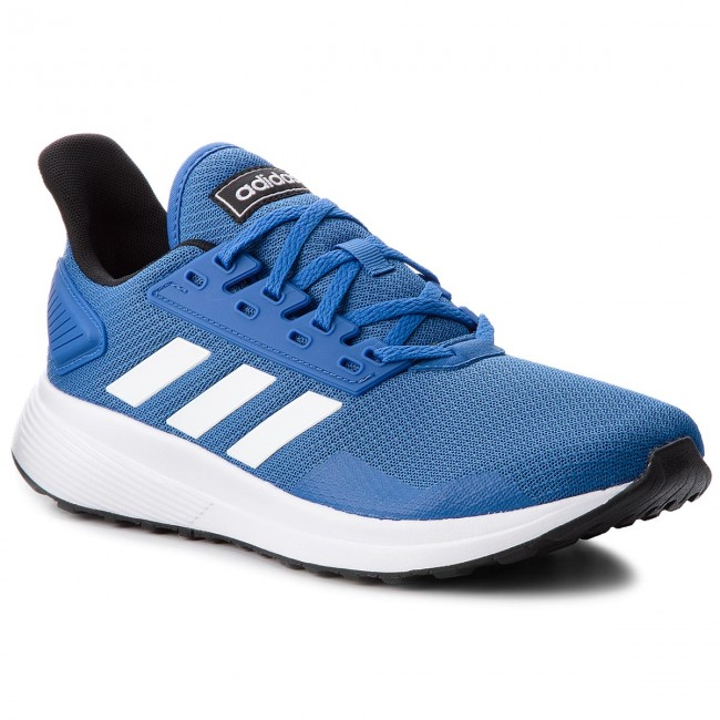 dc9993be94 Topánky adidas - Duramo 9 BB7067 Blue Ftwwht Cblack - Treningová ...