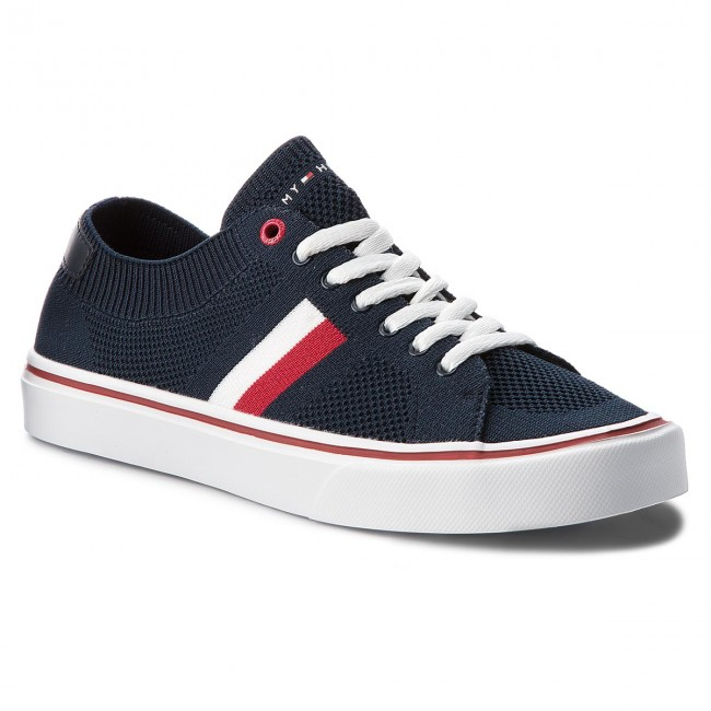 Tenisky TOMMY HILFIGER - Lightweight Corporate Sneaker FM0FM01619 Midnight  403 47b386443f4