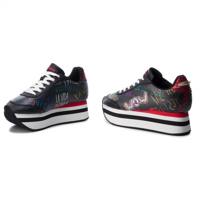 5b11d1c3d500 Sneakersy DESIGUAL - Space Bolimania 18WSKP10 2000 - Sneakersy ...