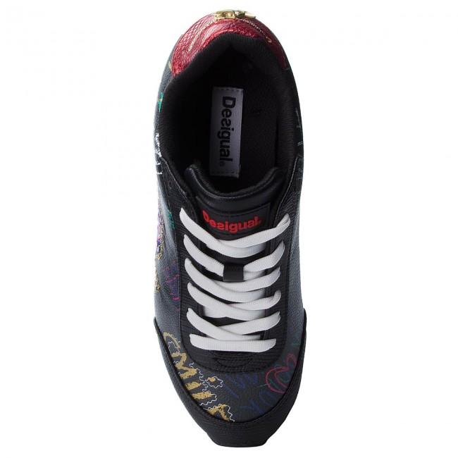 30328bf3c52 Sneakersy DESIGUAL - Space Bolimania 18WSKP10 2000 - Sneakersy - Poltopánky  - Dámske - www.eobuv.sk
