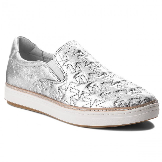 Tenisky TOMMY HILFIGER - Star Metallic City Sneaker FW0FW02980 Silver 000 36ab0585b00