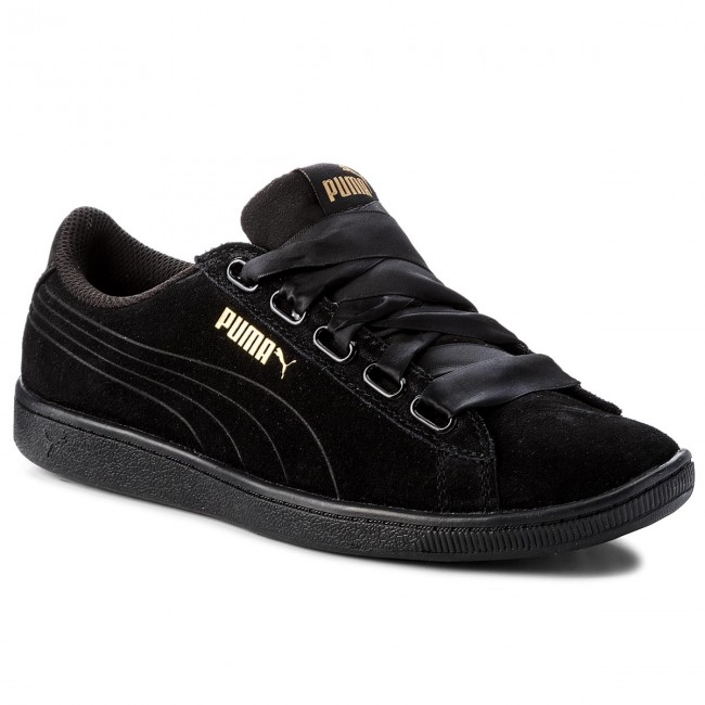 754d3cd0252a Sneakersy PUMA - Vikky Ribbon S 366416 01 Puma Black - Sneakersy ...