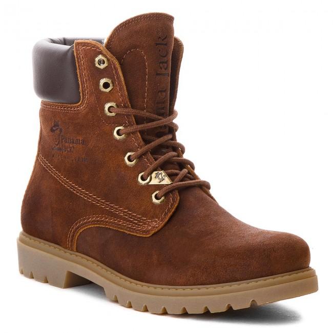 Outdoorová obuv PANAMA JACK - Panama 03 Wool C11 Velour Grass Cuero ... c684e6f8240