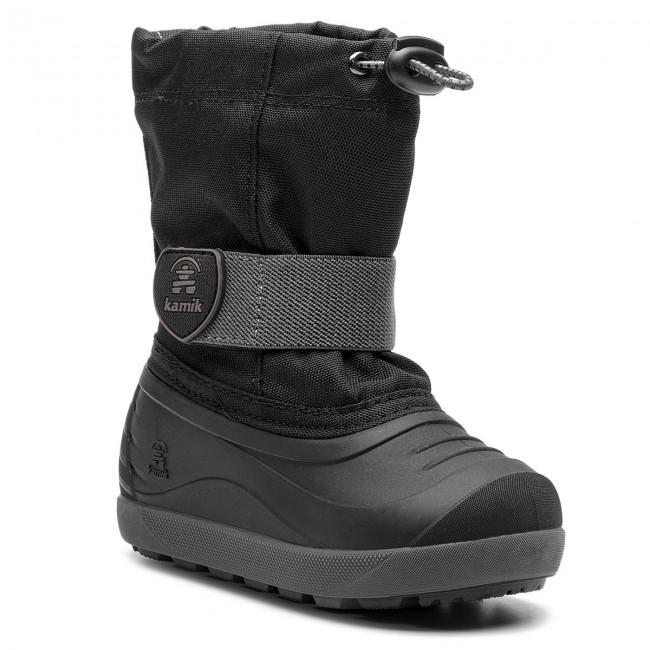 Snehule KAMIK - Jet NF8028 Black Charcoal - Outdoorová obuv - Čižmy ... 3de4ecf3e95