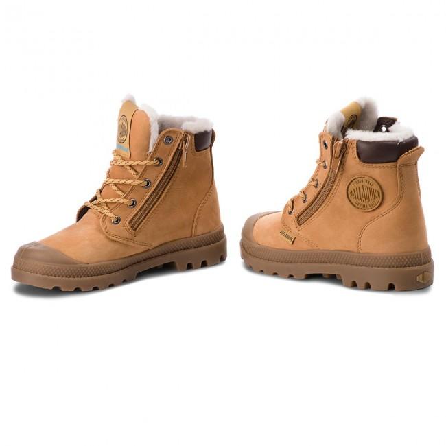 Outdoorová obuv PALLADIUM - Pampa Hi Cuff Wps 53477-216-M Amber Gold ... 5b8353a92c9