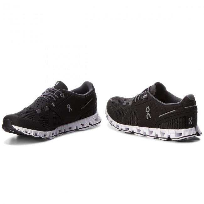 Topánky ON - Cloud 000019 Black White 0001 - Trekingová obuv ... 5338fb5275