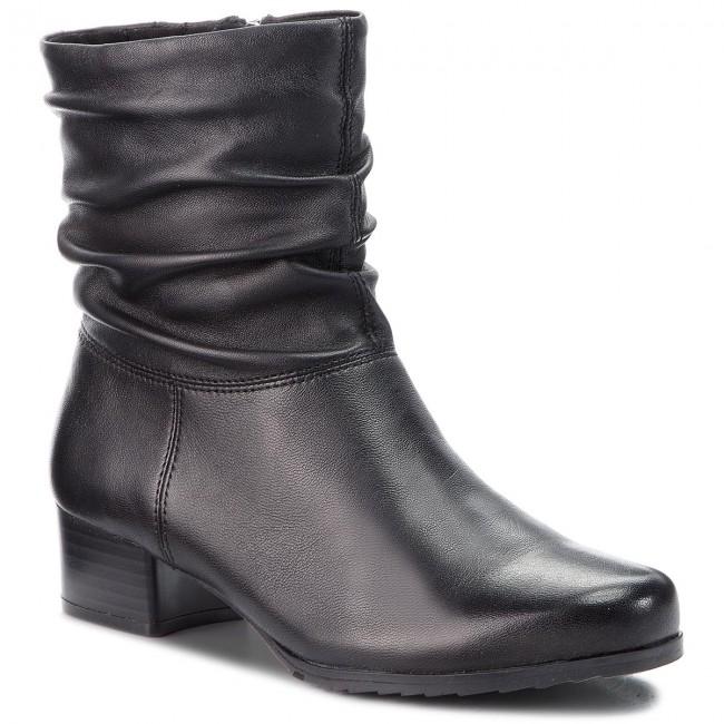9eabf741158e Členková obuv CAPRICE - 9-25301-21 Black Nappa 022 - Kotníková obuv ...