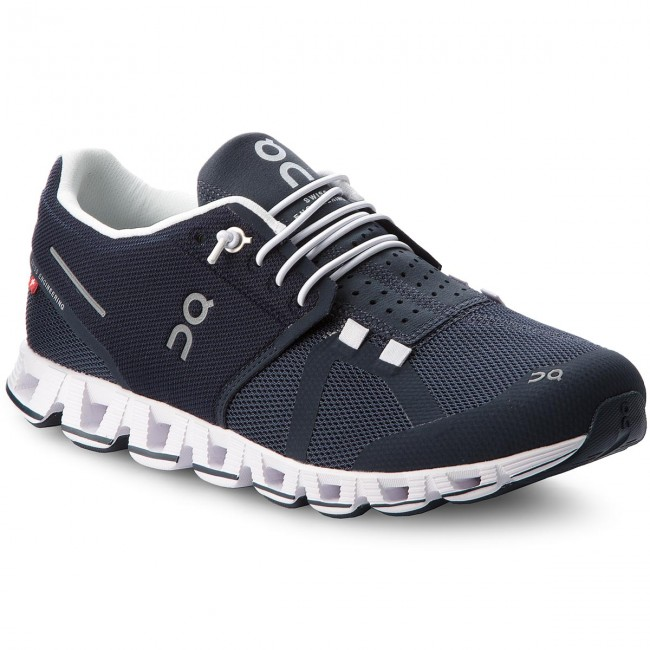 49a7fbe83848 Topánky ON - Cloud 000019 Navy White 4010 - Trekingová obuv ...