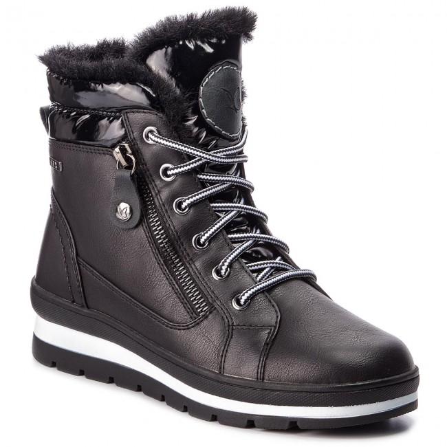 25c43e3b5b Členková obuv CAPRICE - 9-26225-31 Black Comb 019 - Kotníková obuv ...