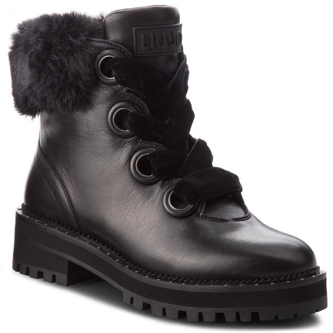 b5878df2b9 Outdoorová obuv LIU JO - Pink 01 S68089 P0102 Black 22222 ...