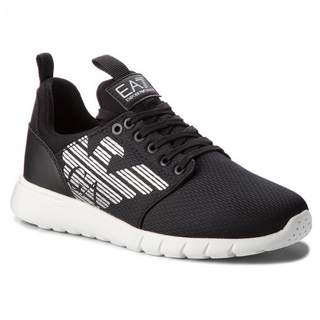 ec5f949957 Sneakersy EA7 EMPORIO ARMANI - X8X007 XCC02 00002 Black - Sneakersy ...