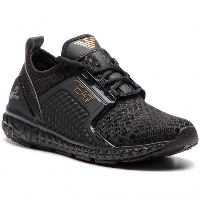 092b57193d Sneakersy EA7 EMPORIO ARMANI - X8X012 XK015 00002 Black - Sneakersy ...