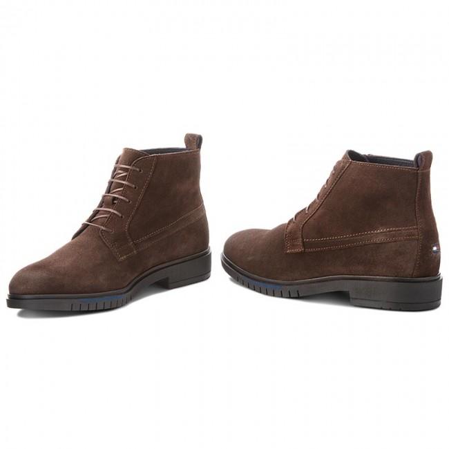 Outdoorová obuv TOMMY HILFIGER - Flexible Dressy Sued FM0FM01760 Coffeee Bean  212 fbcd6ede18d