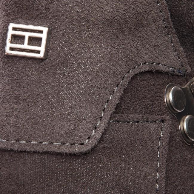 b4f755fb02 Členková obuv TOMMY HILFIGER - Cozy Warmlined Suede FW0FW03437 Steel Grey  039