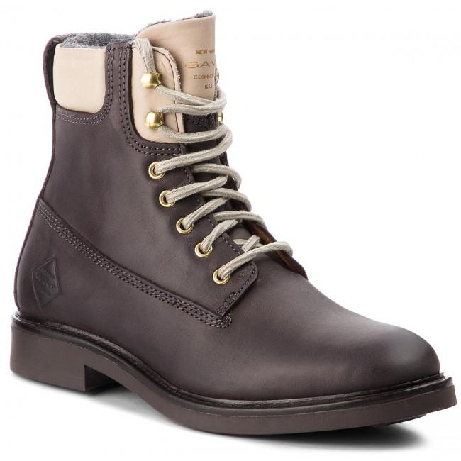 18d757fcfa Členková obuv GANT - Ashley 17544830 Graphite Gray G83 - Kotníková ...