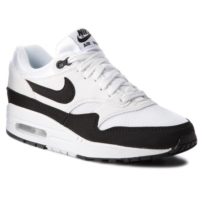 Topánky NIKE - Air Max 1 319986 109 White Black - Sneakersy ... 038df00ddb5