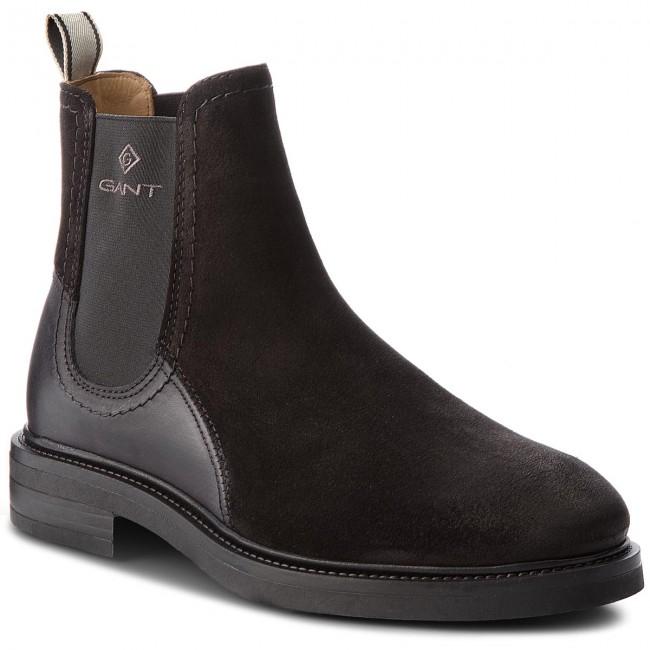 Kotníková obuv s elastickým prvkom GANT - Martin 17653905 Black G00 ... 686d54ab6fc