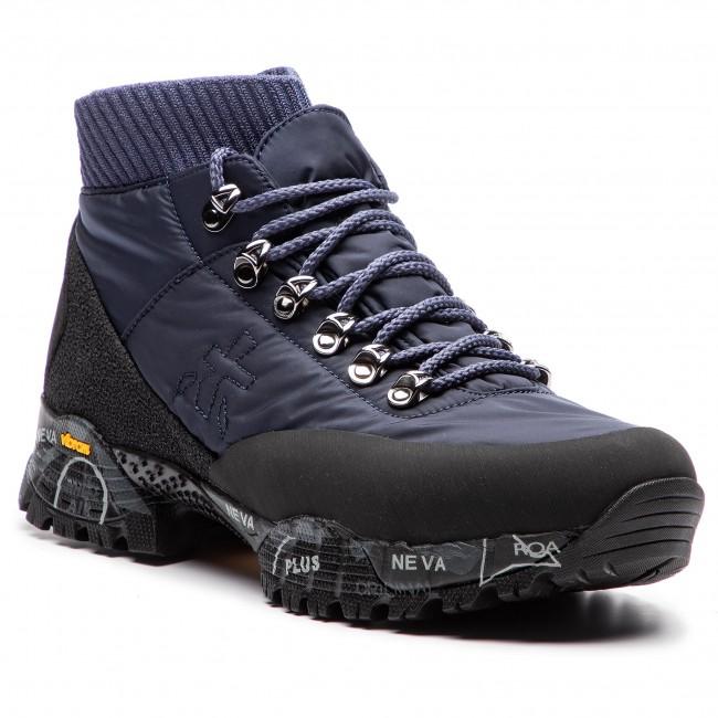 Trekingová obuv PREMIATA - Loutreck 0114 Tmavo modrá - Outdoorové ... 5611735ee71