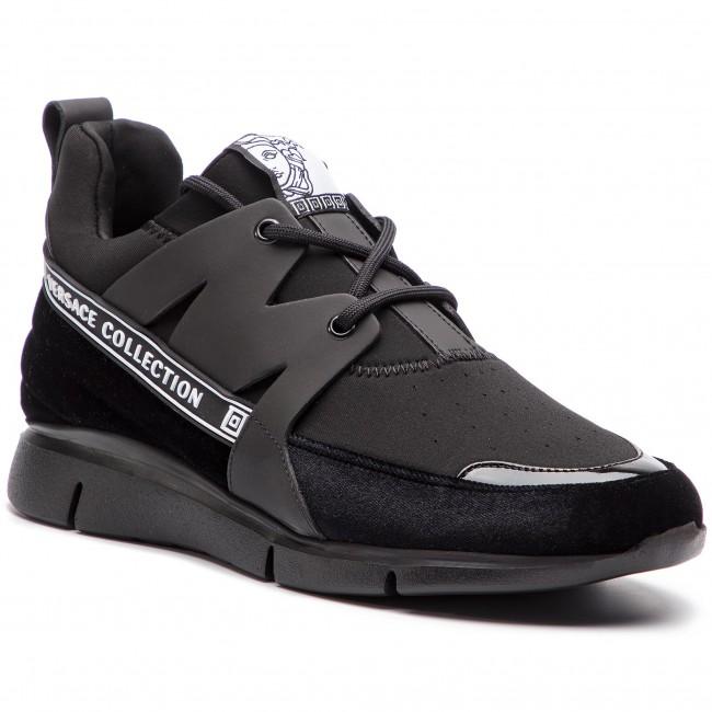 Sneakersy VERSACE COLLECTION - V900724 VM00418 VA07 Nero Nero Nero Nero Ne edc5f104033