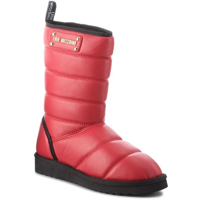 df5c4c56b7de Topánky LOVE MOSCHINO - JA24103H06JH0500 Rosso - Kotníková obuv ...