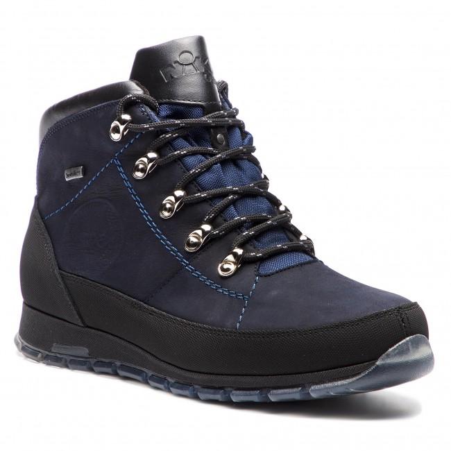 Trekingová obuv NIK - 02-0518-09-2-09-03 Tmavo modrá - Outdoorové ... 352d4e89053