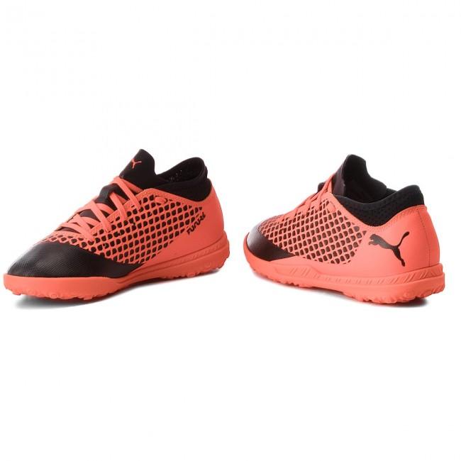 5c841da97c6a Topánky PUMA - Future 2.4 Tt Jr 104845 02 Black Orange - Obuv na ...