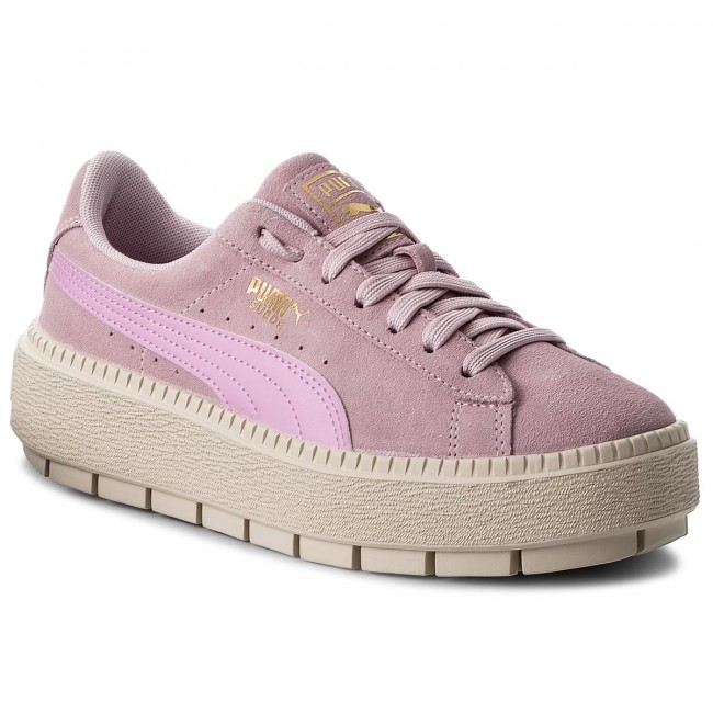 Sneakersy PUMA - Suede Platform Trace Jr 366826 02 Winsome Orchid Orchid f88080f8672