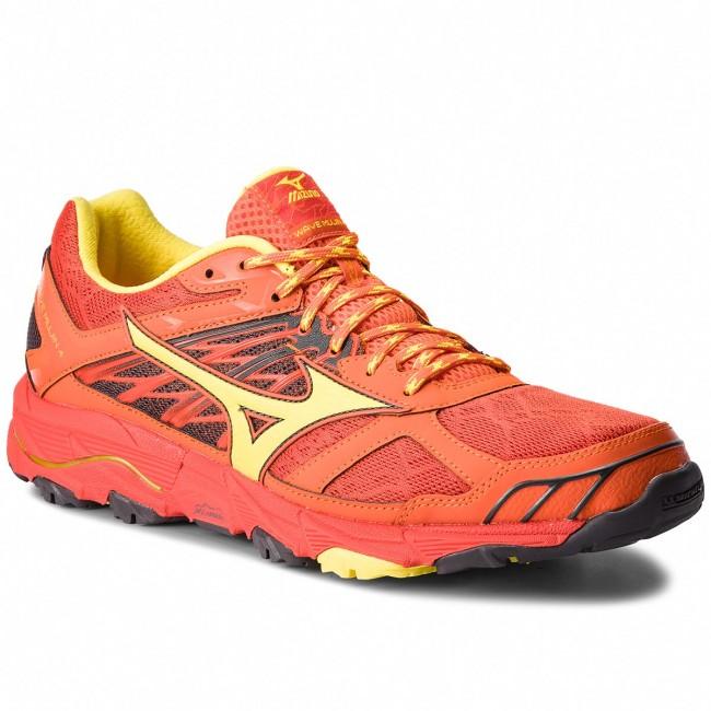 Topánky MIZUNO - Wave Mujin 4 J1GJ177045 Oranžová - Trekingová obuv ... 283ad75ce85