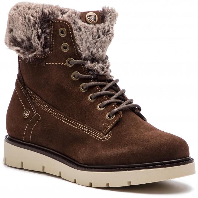 Členková obuv WRANGLER - Tucson Lady Suede WL182511 Ebony 130 ... 3a90c4aecf6