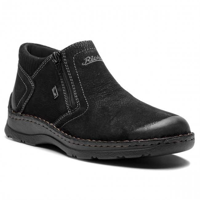 Outdoorová obuv RIEKER - 05393-00 Schwarz - Topánky - Čižmy a iné ... b4485909b48