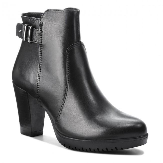 2e39a40d27bda Členková obuv TAMARIS - 1-25051-21 Black 001 - Kotníková obuv ...