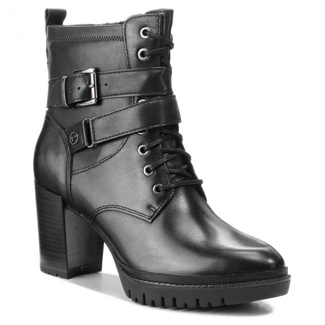 1786f50422f69 Členková obuv TAMARIS - 1-25208-21 Black 001 - Kotníková obuv ...