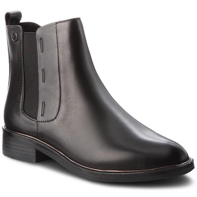 0a33a9c3b6700 Členková obuv TAMARIS - 1-25307-21 Black 001 - Kotníková obuv ...