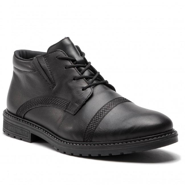 ca49b0ef09f38 Outdoorová obuv RIEKER - B5348-00 Schwarz - Topánky - Čižmy a iné ...