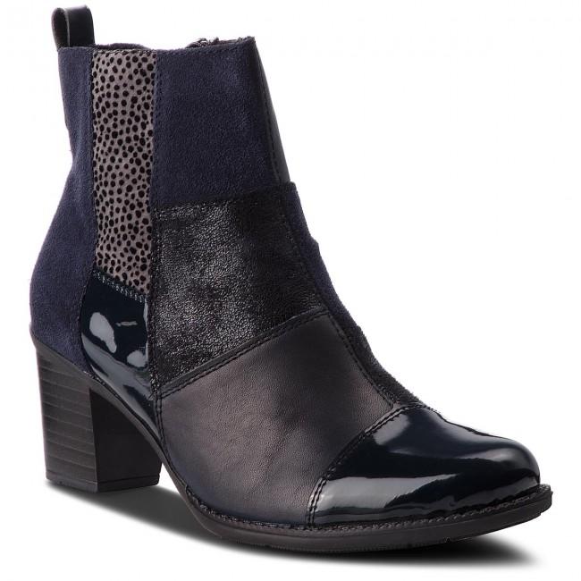 Členková obuv RIEKER - Z7686-14 Blau - Kotníková obuv - Čižmy a iné ... b5d70bdb75