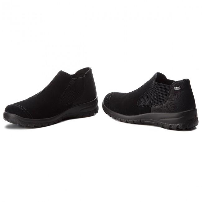 Členková obuv RIEKER - L7190-00 Schwarz - Kotníková obuv - Čižmy a ... 80db33851ed