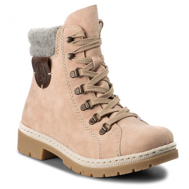 92f15554b7c3 Outdoorová obuv RIEKER - Y9430-32 Rosa - Outdoorové topánky - Čižmy ...