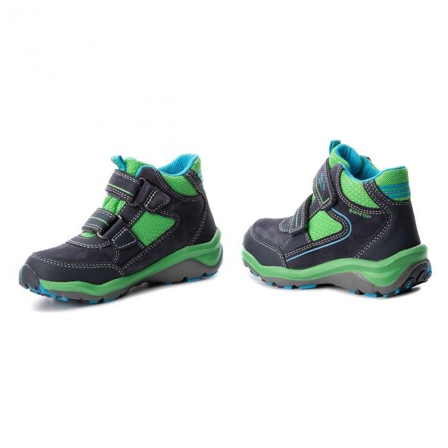 5777100276 Outdoorová obuv SUPERFIT - GORE-TEX 3-09239-81 S Blau Grun - Topánky ...