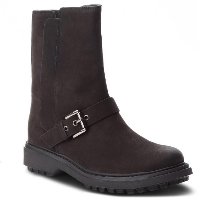 Členková obuv GEOX - D Asheely D D847AD 000LT C9999 Black ... 3a021776243