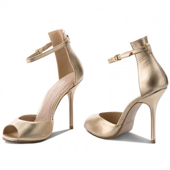 Sandále BRONX - 84604-C BX 1224 Pale Gold 116 - Elegantné sandále ... dac58941e67