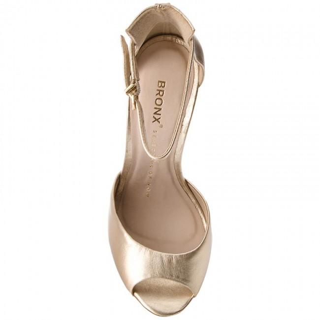 Sandále BRONX - 84604-C BX 1224 Pale Gold 116 - Elegantné sandále - Sandále  - Šľapky a sandále - Dámske - www.eobuv.sk 348947497ed