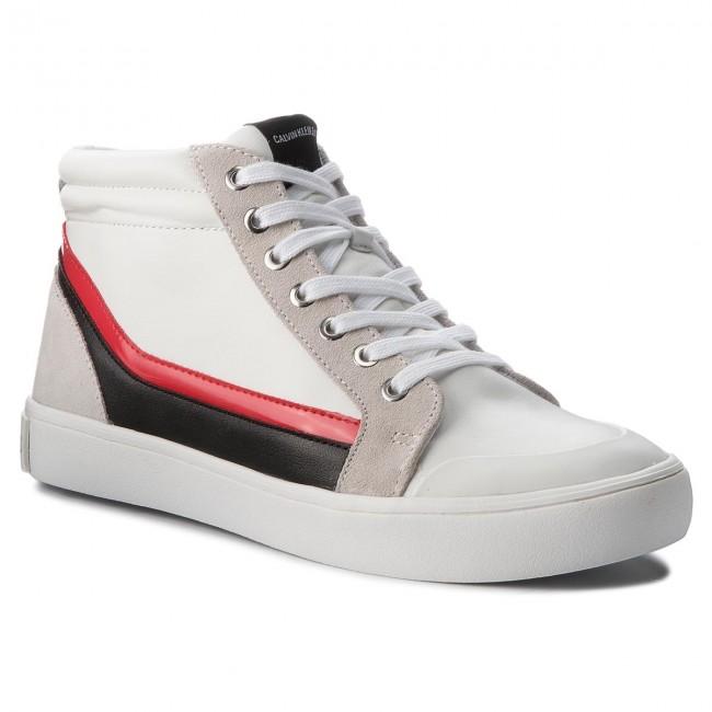 b425794898 Sneakersy CALVIN KLEIN JEANS - Doris R0798 White Black White To ...