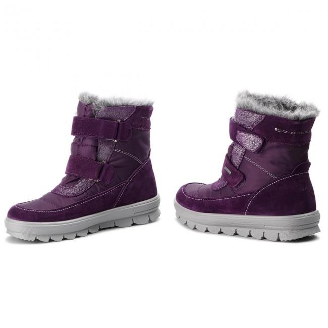 71bd4718059 Snehule SUPERFIT - GORE-TEX 3-00214-90 S Lila - Outdoorová obuv ...