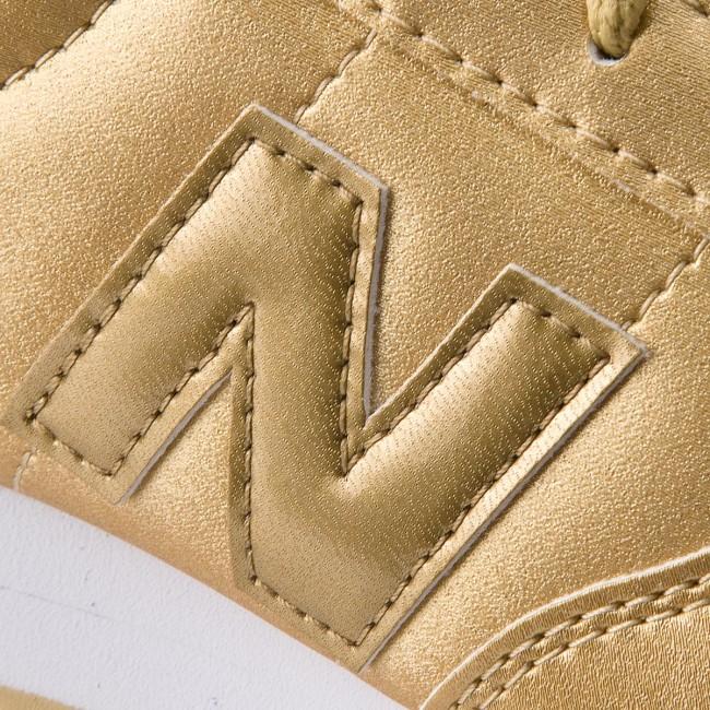 bf5bb8445f3 Sneakersy NEW BALANCE - KL220GUY Zlatá - Sneakersy - Poltopánky ...