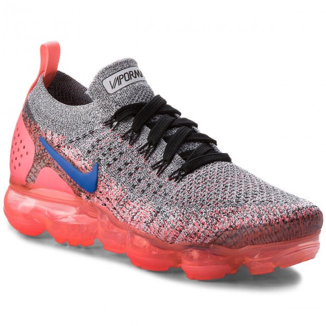 Topánky NIKE - Air Vapormax Flyknit 2 942843 104 White Ultramarine Hot Punch 3c9c103cc31