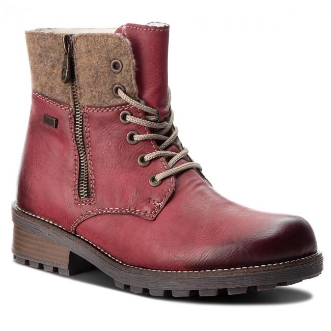 a8b79f4c5fea Outdoorová obuv RIEKER - Z0441-35 Rot Kombi - Outdoorové topánky ...