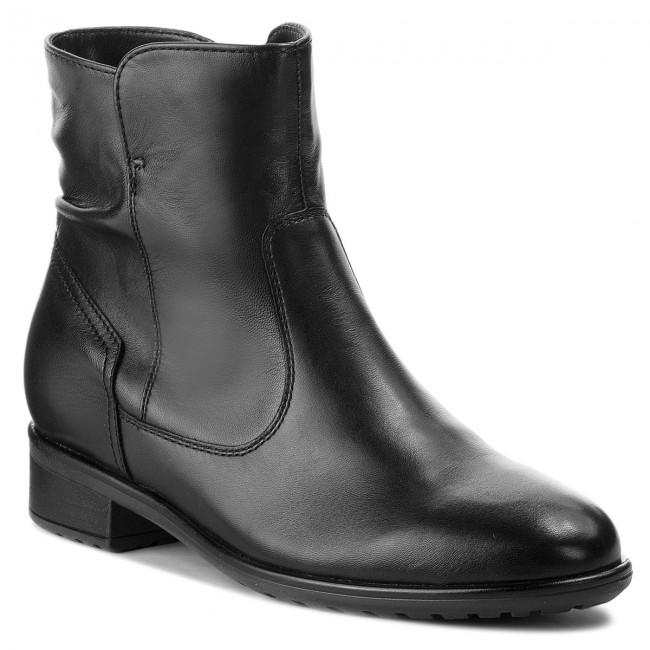 3d9c7ab648de5 Členková obuv ARA - 12-49523-61 Schwarz - Kotníková obuv - Čižmy a ...