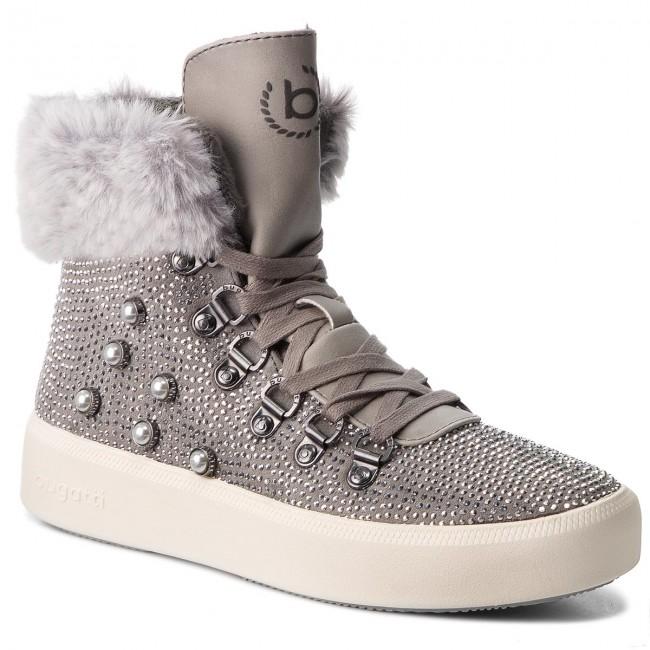 72ec4e62e87 Členková obuv BUGATTI - 431-40733-6459-1512 Grey Light Grey