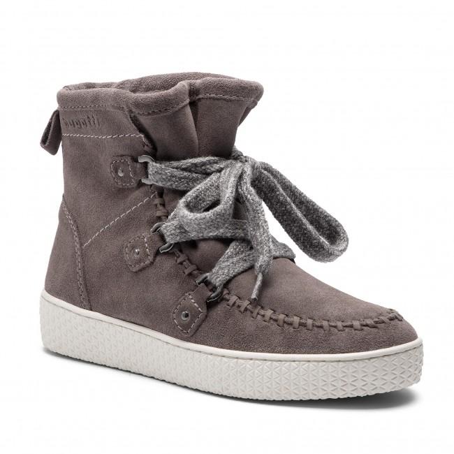 1dd2aa926b Členková obuv BUGATTI - 431-52551-1400-1500 Grey - Kotníková obuv ...